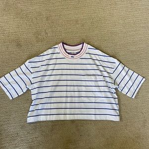 Quicksilver x Urban Outfitters striped tee